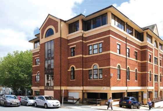 Centre Court Freehold City Centre Office Property Investment in Exeter Street, Plymouth, Devon, UK
